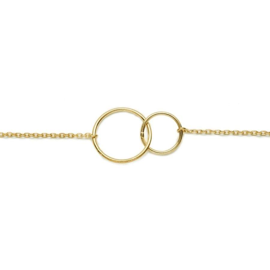 Bracelet Mademoiselle Fanny en plaqué or
