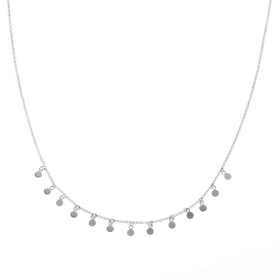 Collier argent Mademoiselle Fanny
